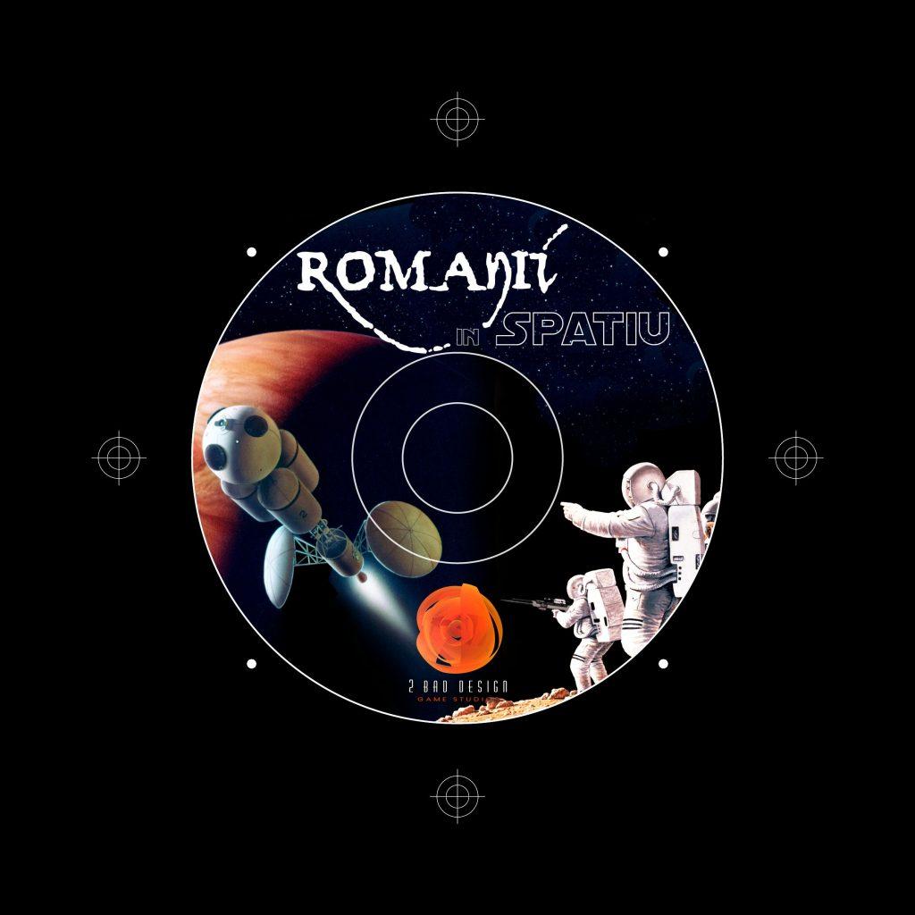 Romanii In Spatiu CD Label