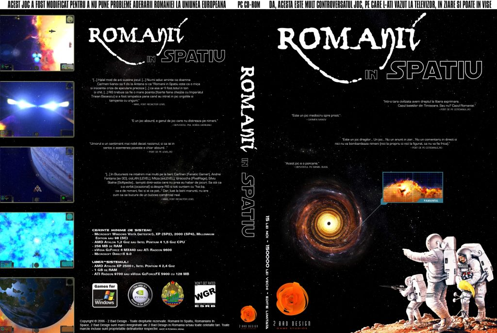 Romanians In Space Coversheet